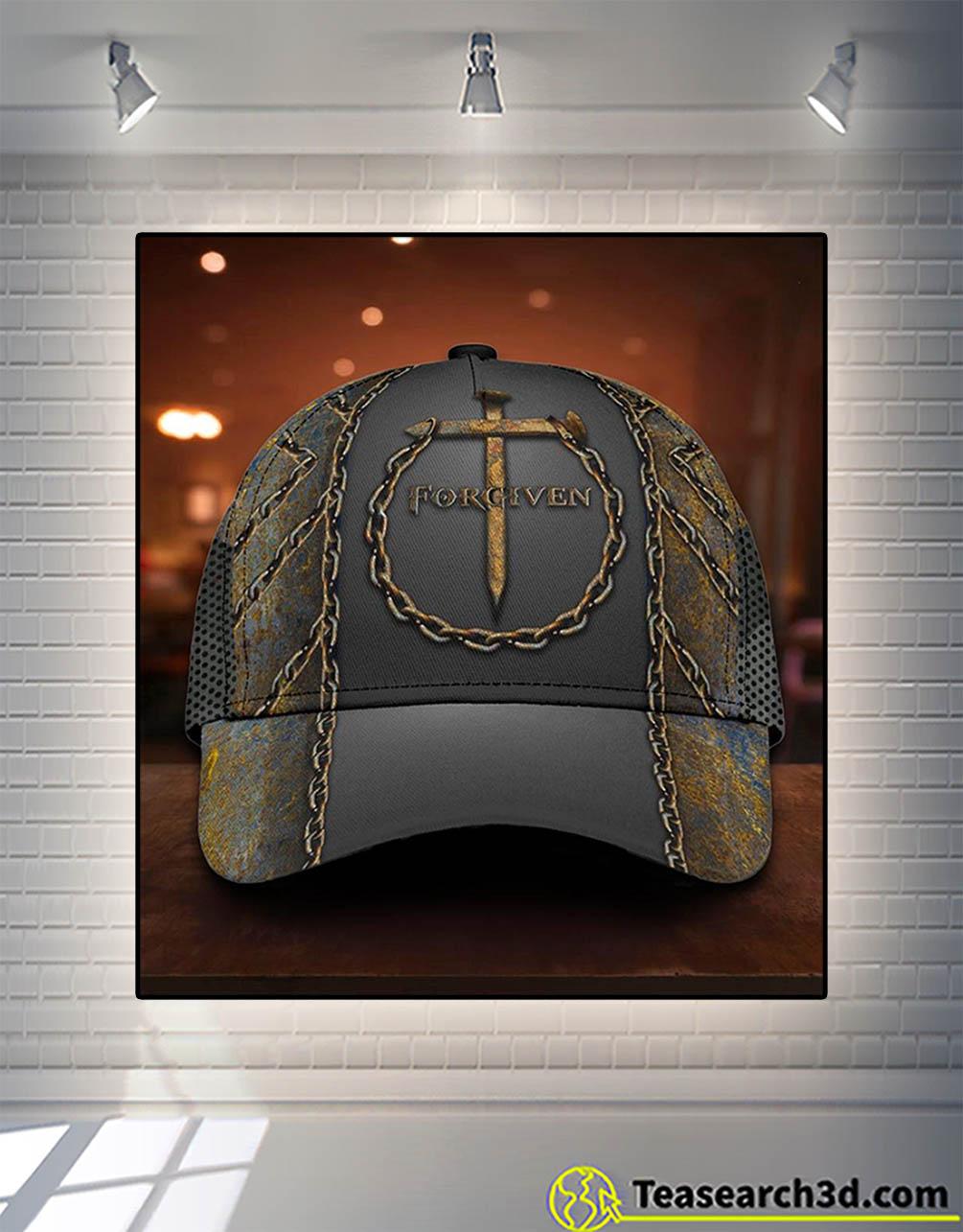Jesus forgiven classic cap