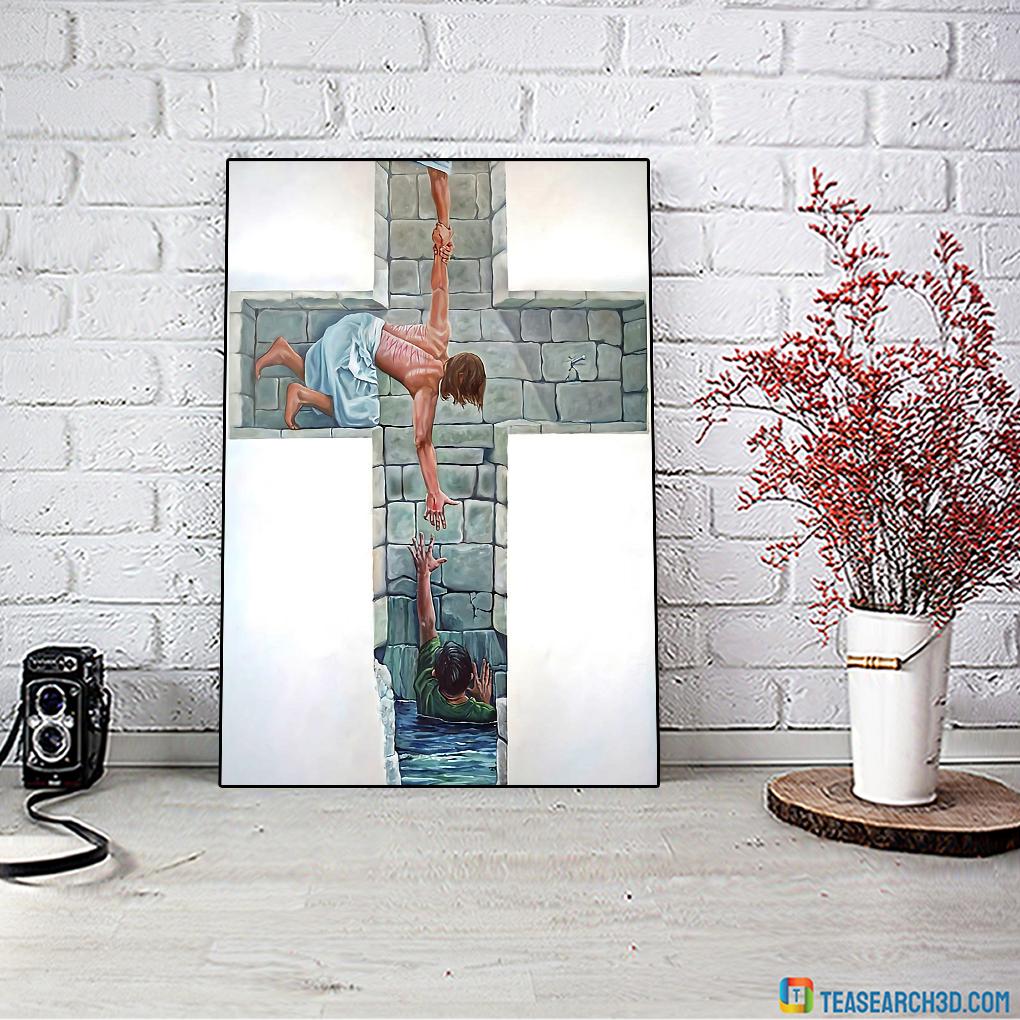 Jesus is my savior poster