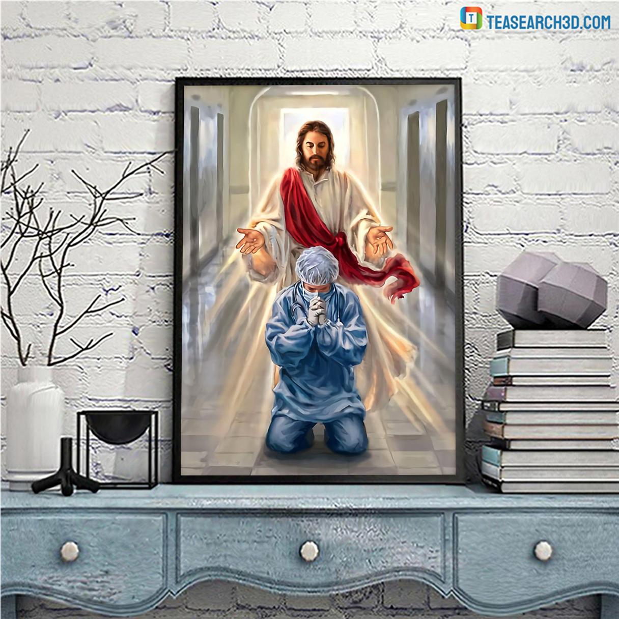Nurse jesus I trust in you poster A2