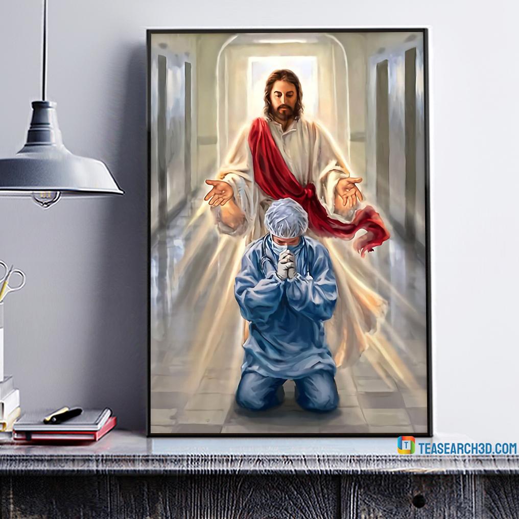 Nurse jesus I trust in you poster