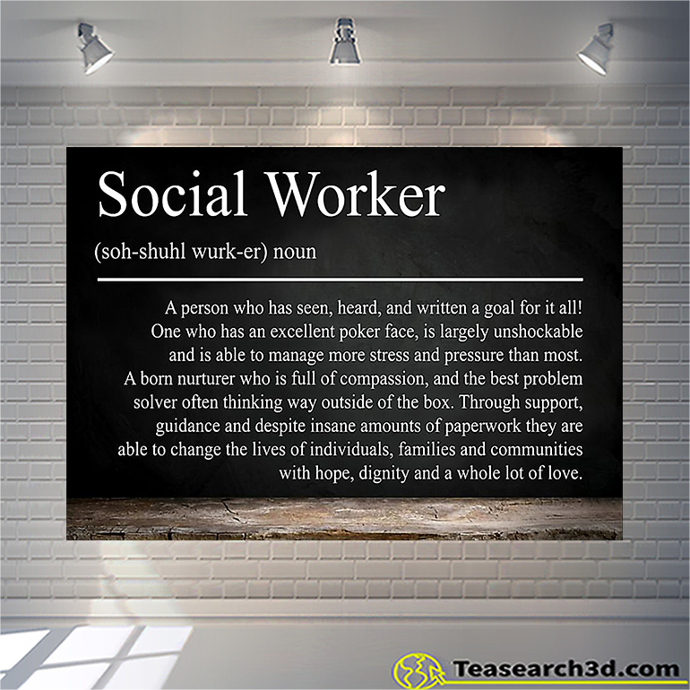 Social worker A person who has seen poster poster A3