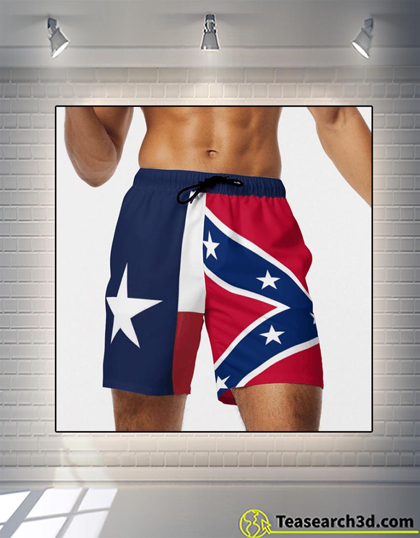 Texas american beach shorts 1