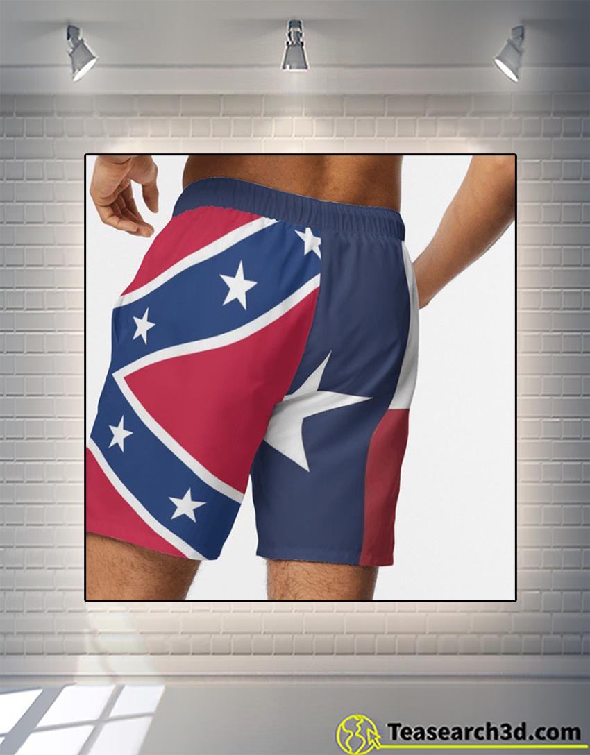 Texas american beach shorts 2
