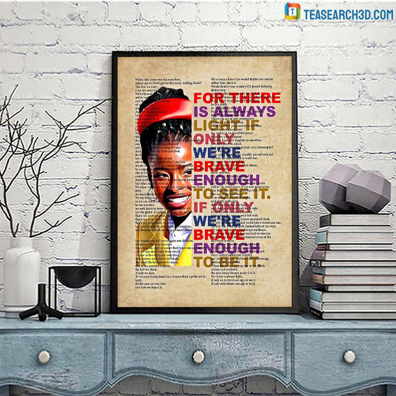 Amanda quotes vertical poster A3