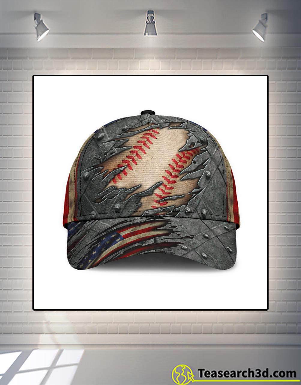 Baseball american flag classic cap