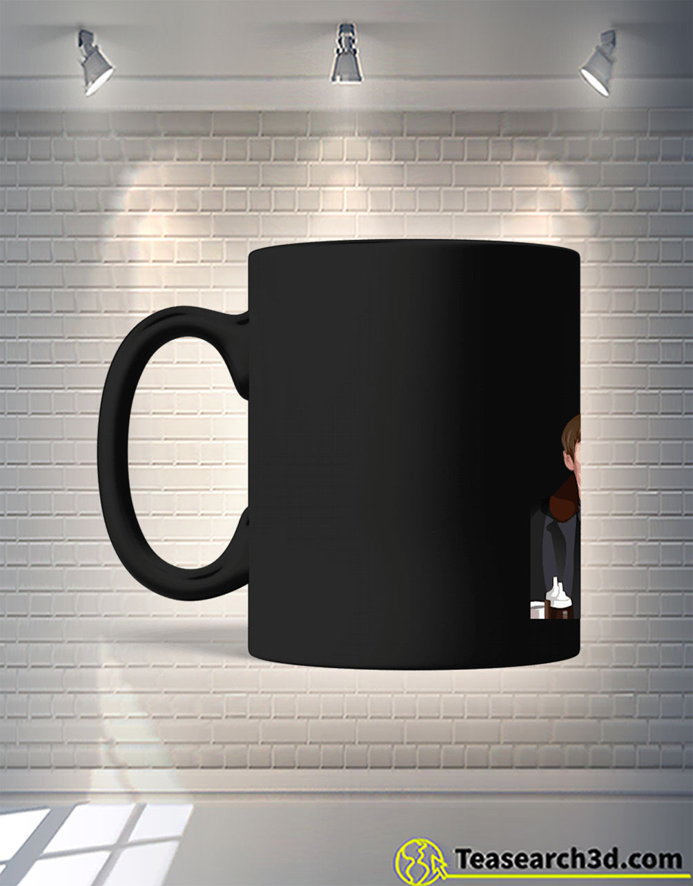 Only fools lines look after your broom mug front