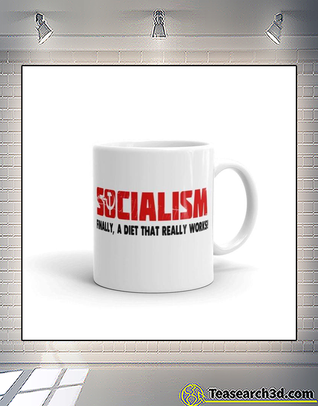 Socialism finally a diet that really works mug