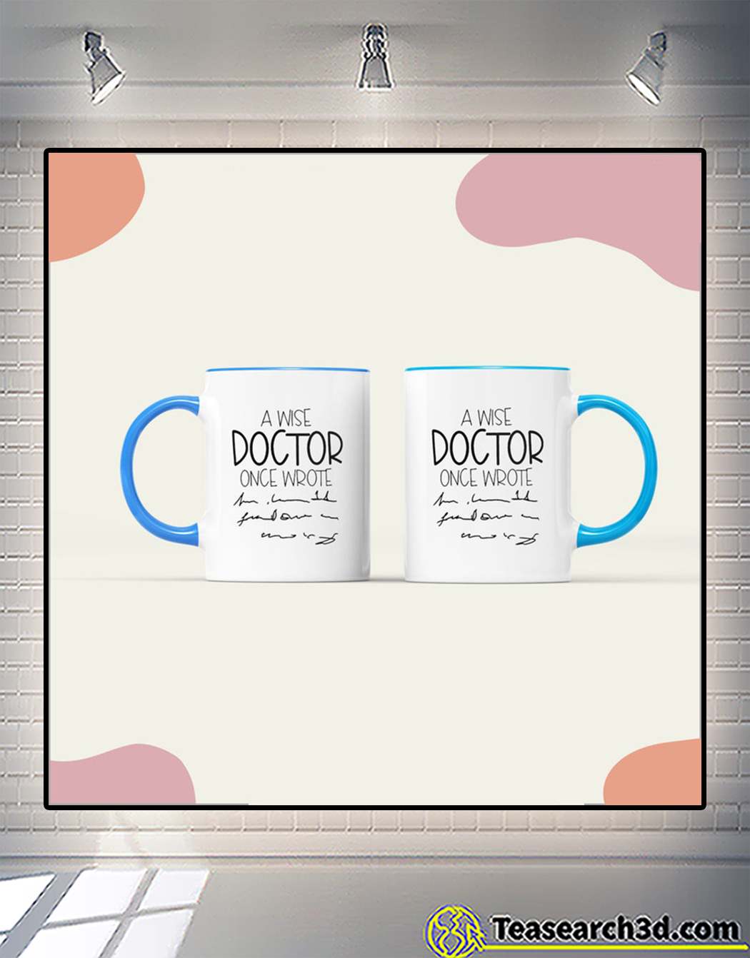 A wise doctor once wrote mug 2