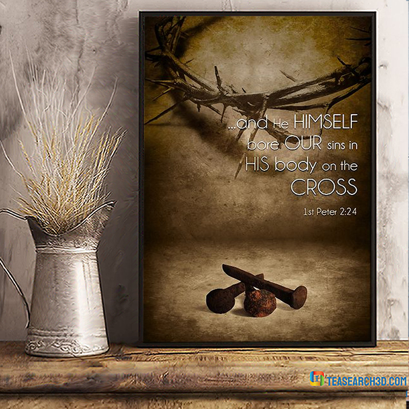 And he himself bore our sins poster A3