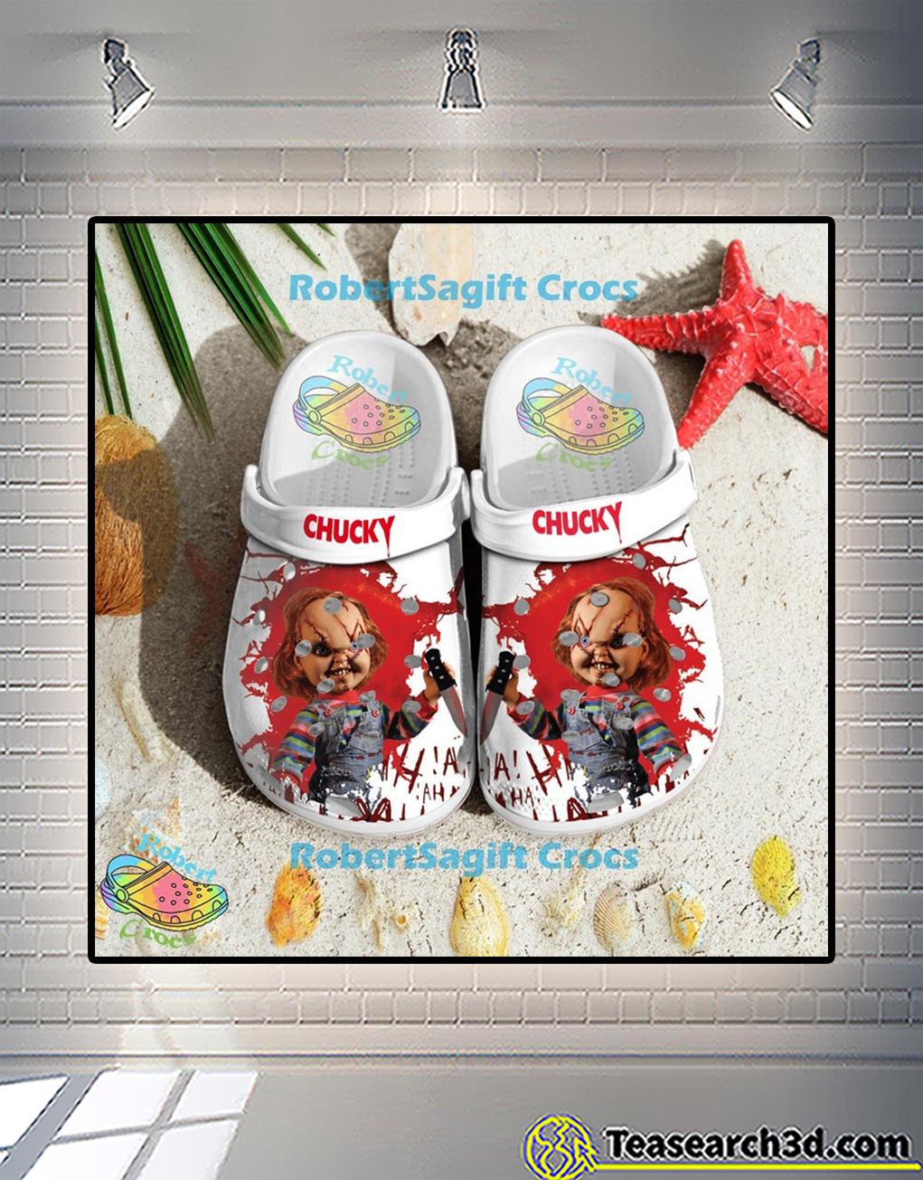 Child's play chucky crocs shoes 1
