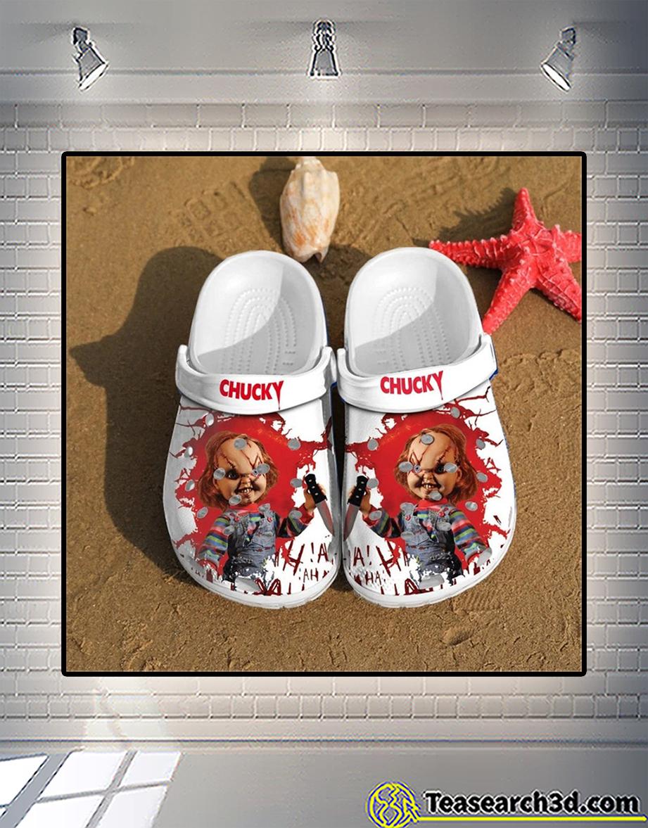 Child's play chucky crocs shoes 2