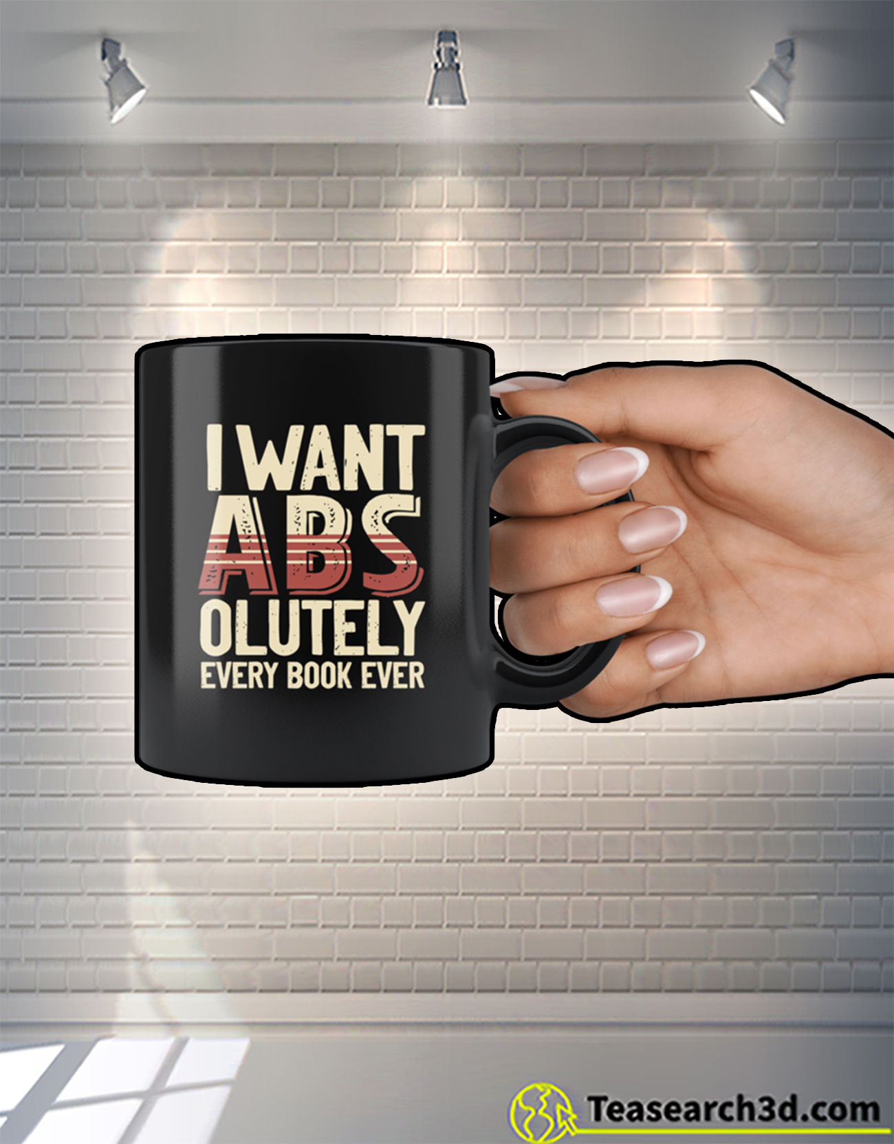 I want abs-olutely every book ever mug 1