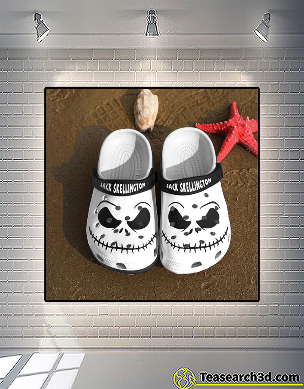Jack skellington crocs shoes