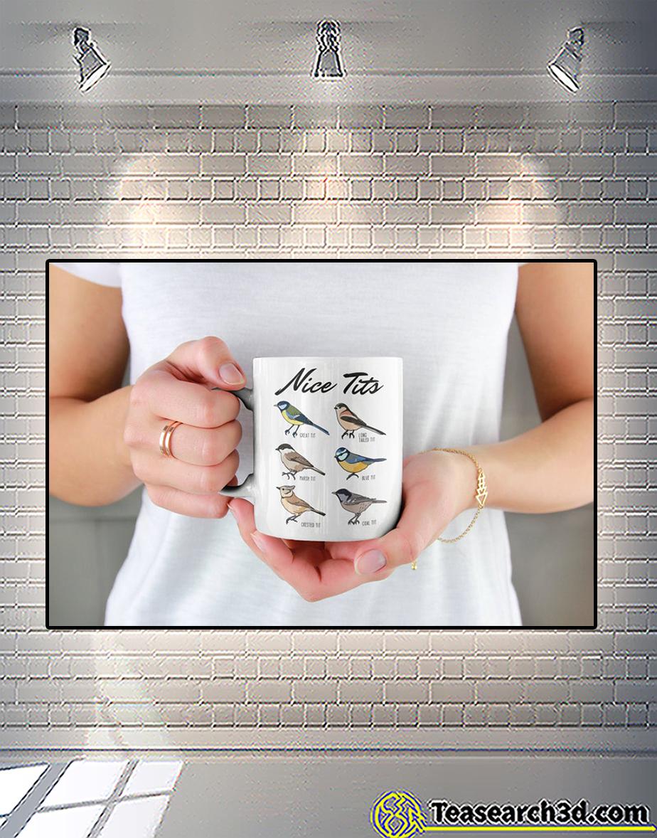 Nice tits fowl language bird watcher mug front