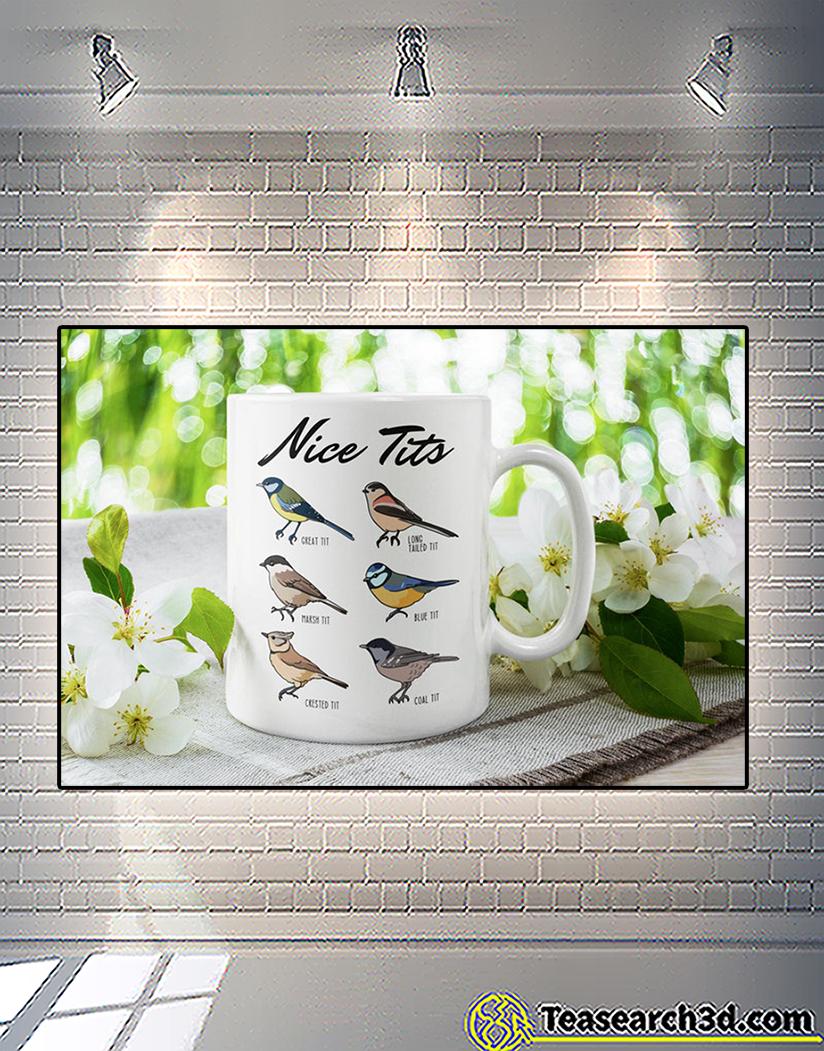 Nice tits fowl language bird watcher mug