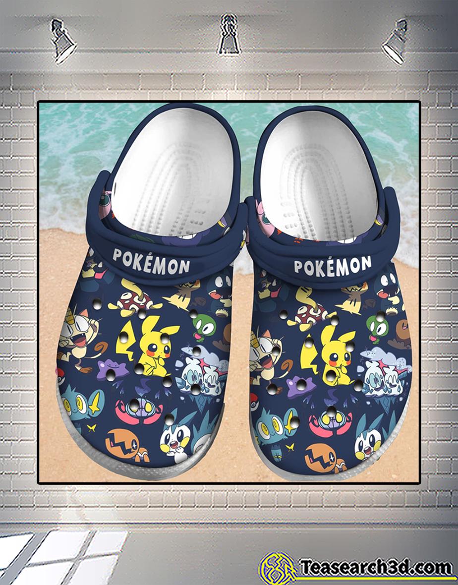 Pokémon crocs shoes 1