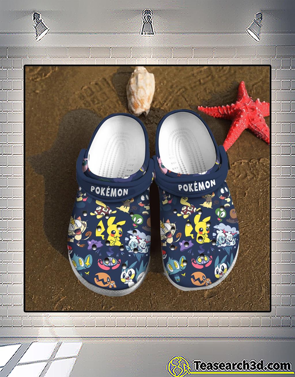 Pokémon crocs shoes