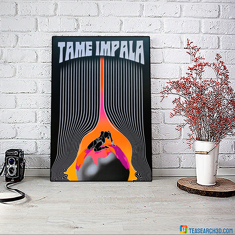Tame impala the less i know the better poster A1