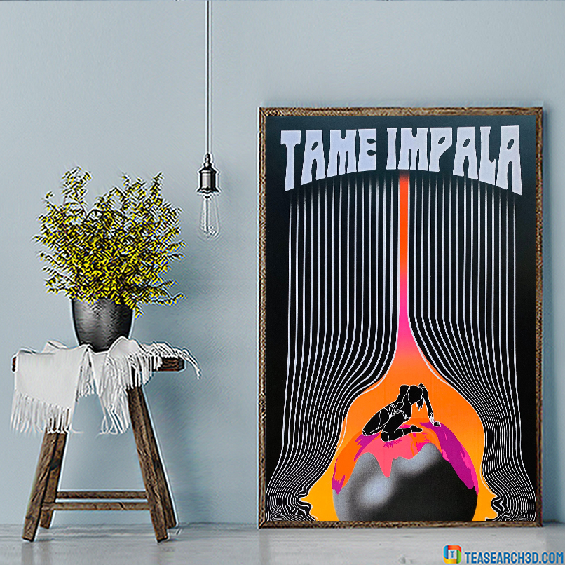 Tame impala the less i know the better poster A2