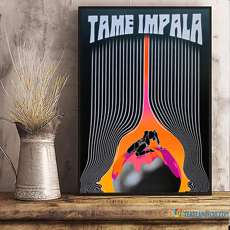 Tame impala the less i know the better poster A3