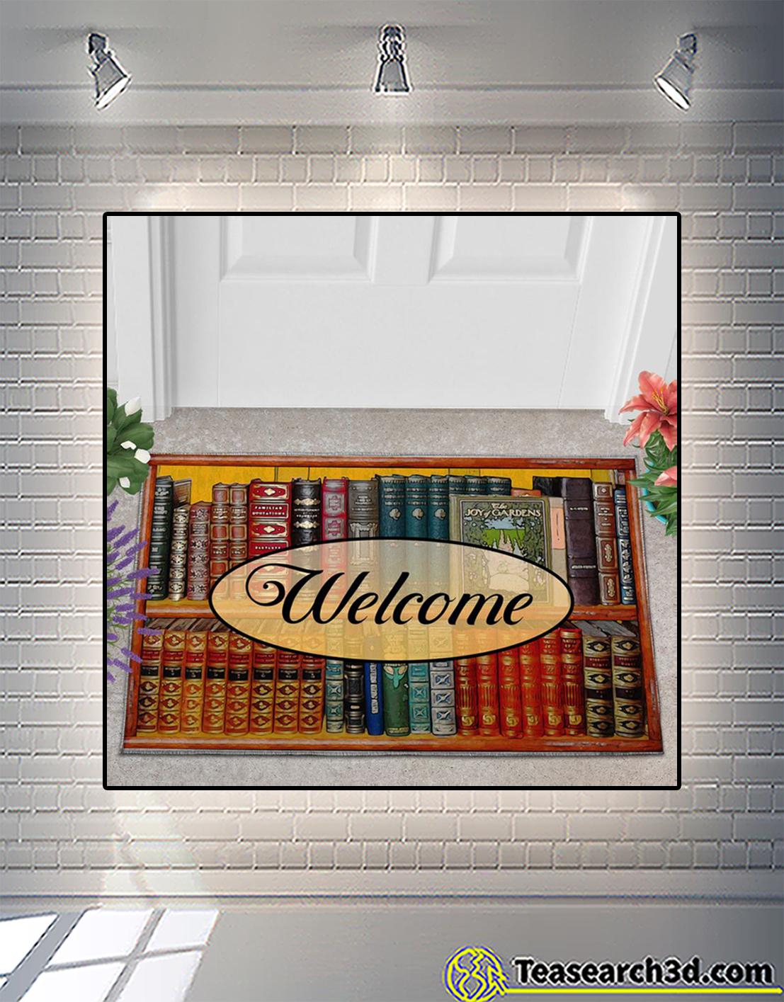 Welcome to my reading room doormat 2