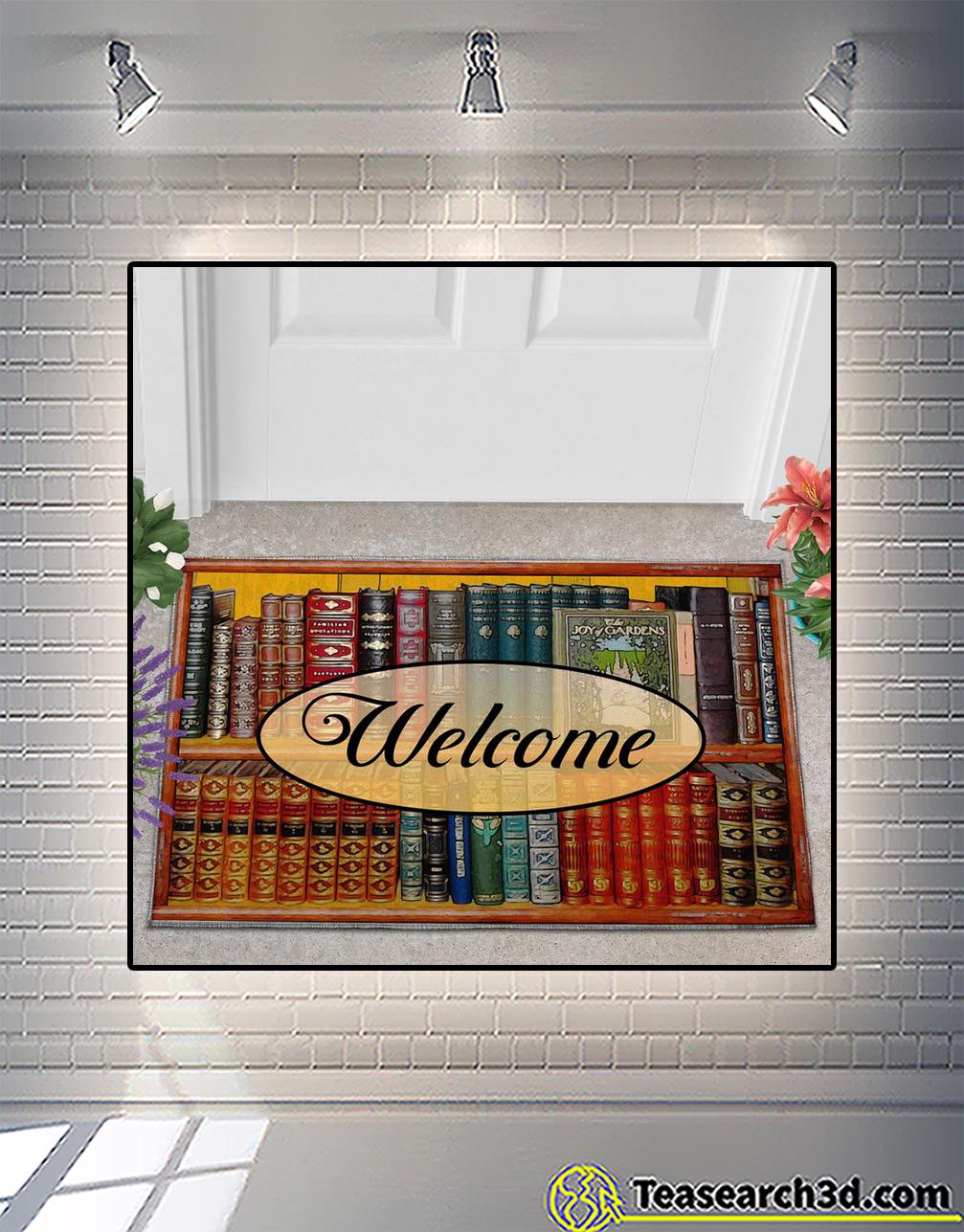Welcome to my reading room doormat