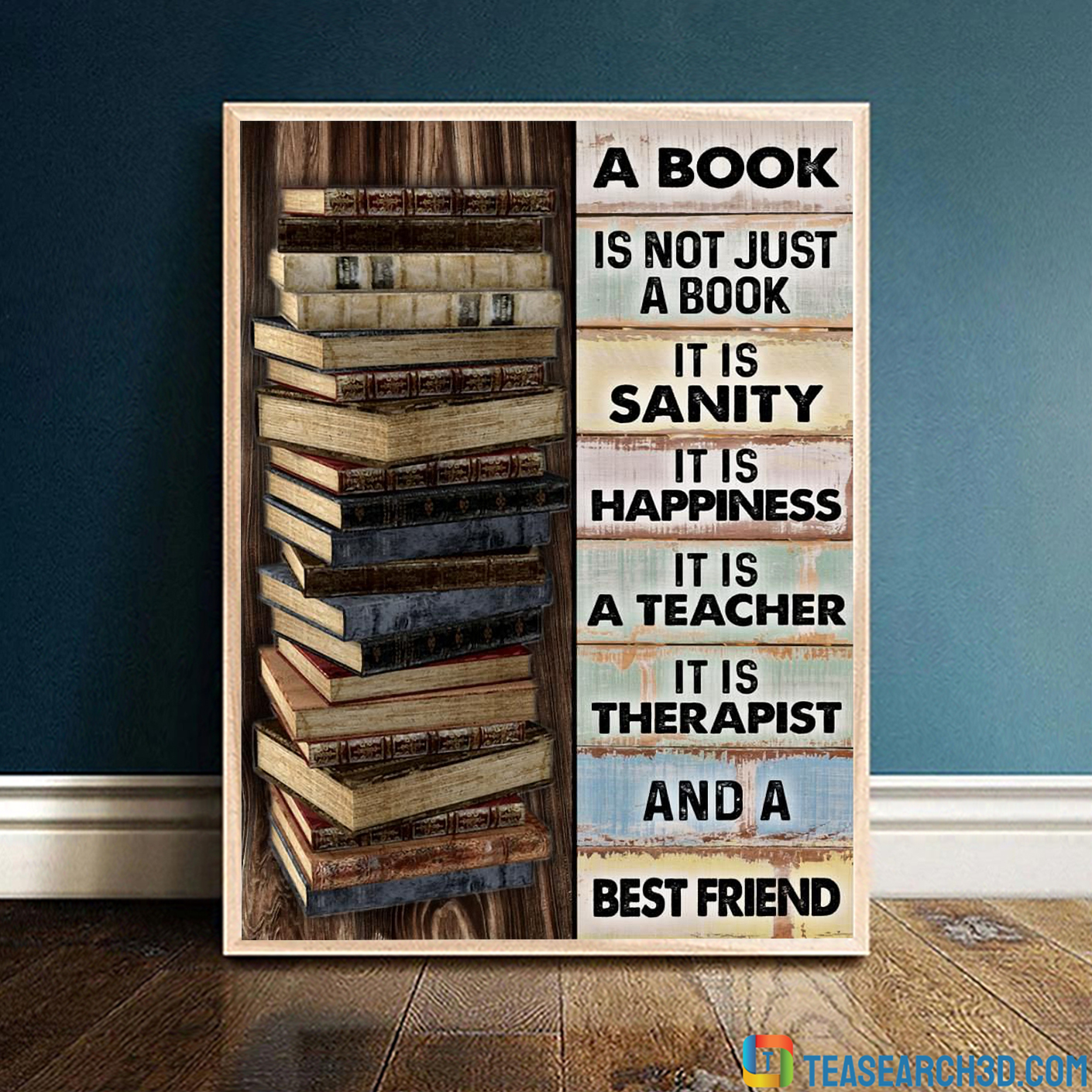 A book is not just a book it is sanity poster