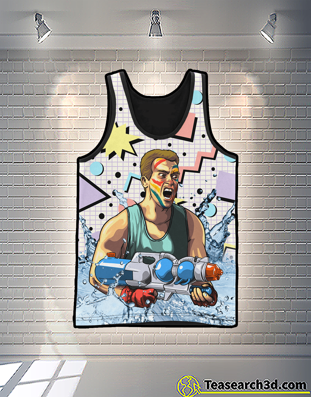 Arnold pump 3d all over printed tank 1