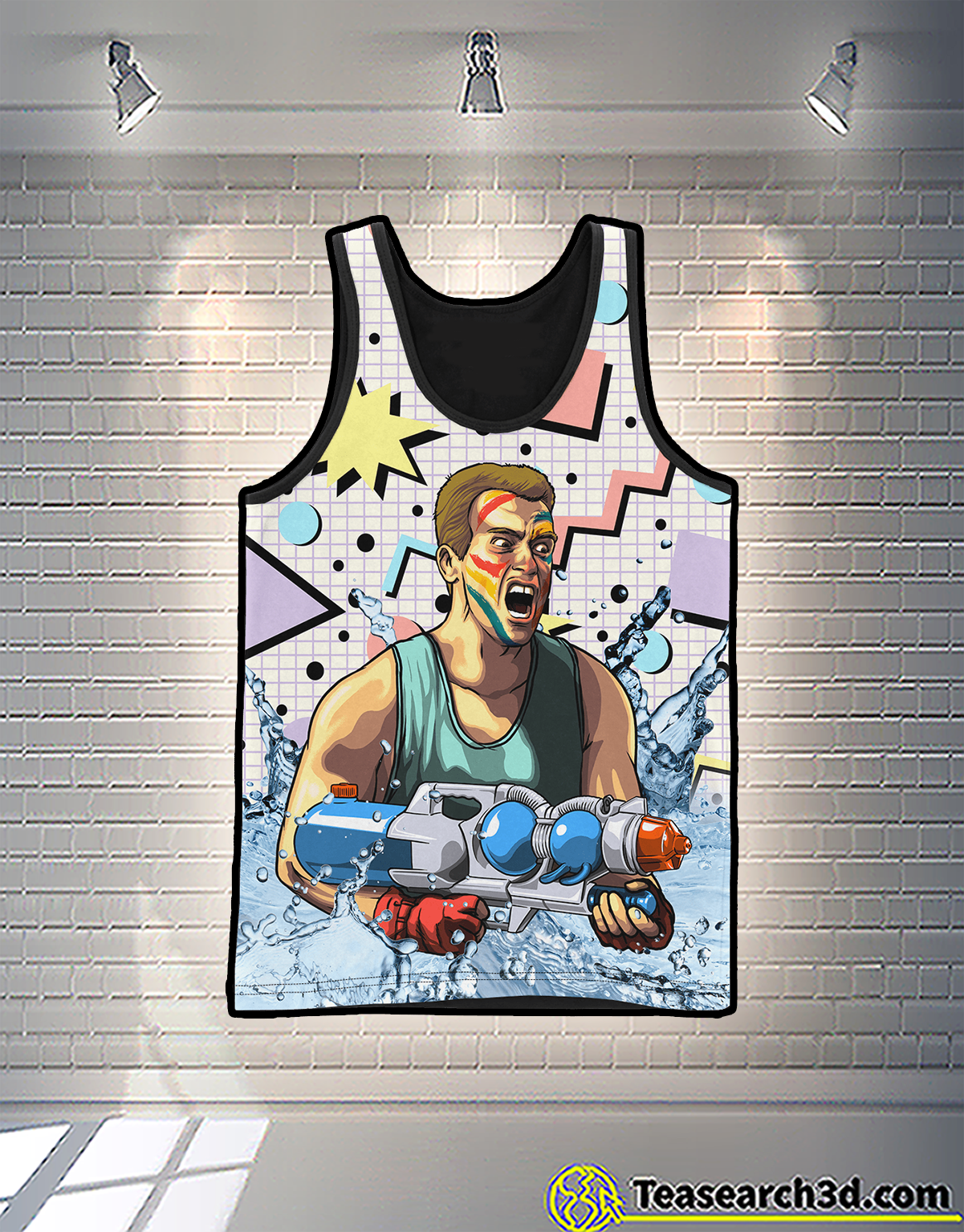 Arnold pump 3d all over printed tank