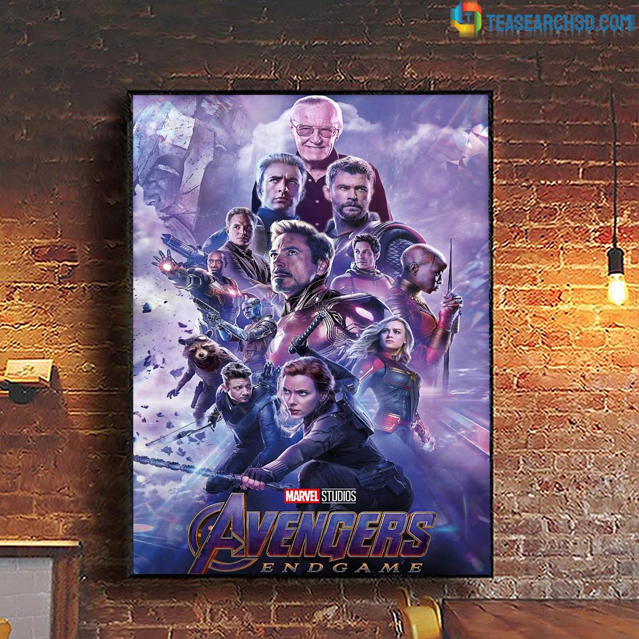 Avengers endgame marvel studio poster A1