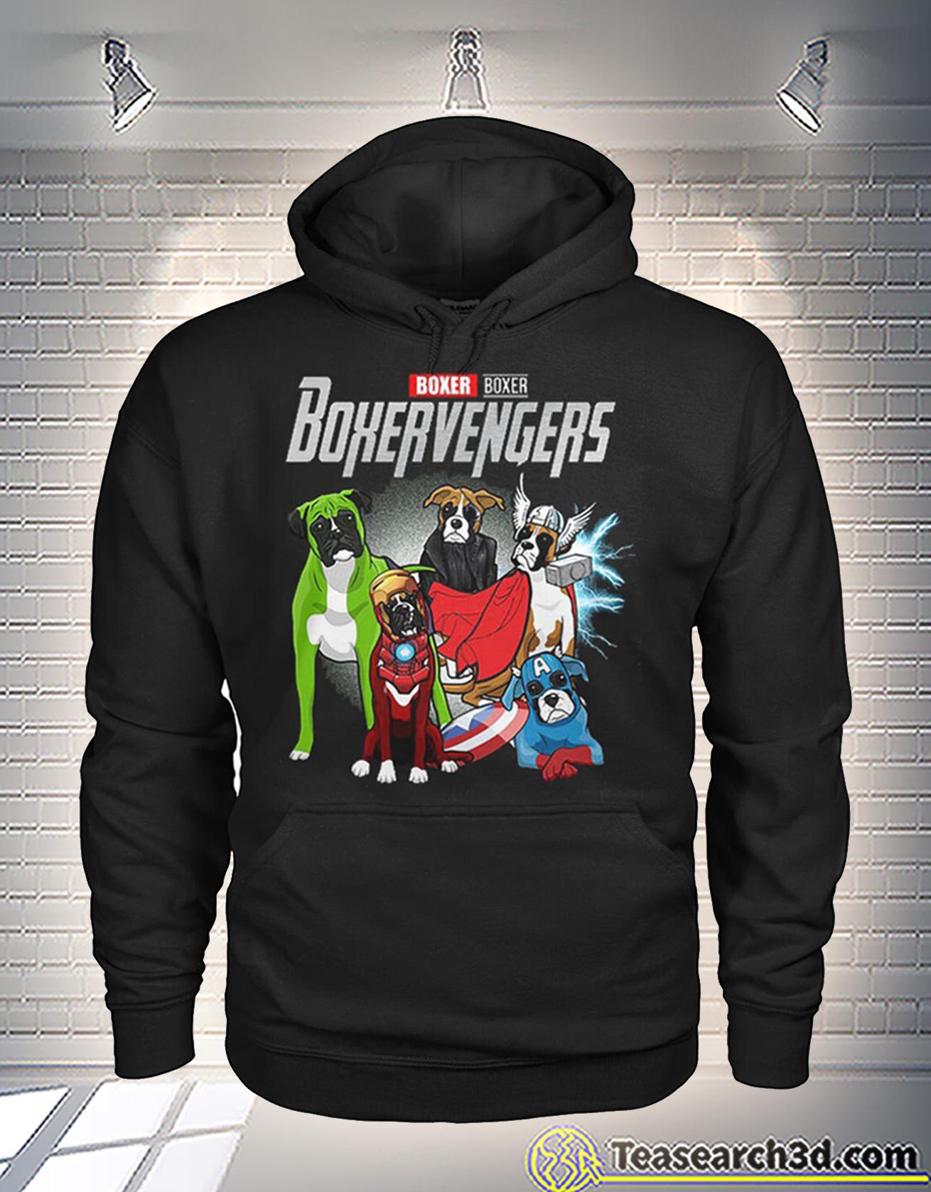 Boxer boxer boxervengers avengers hoodie