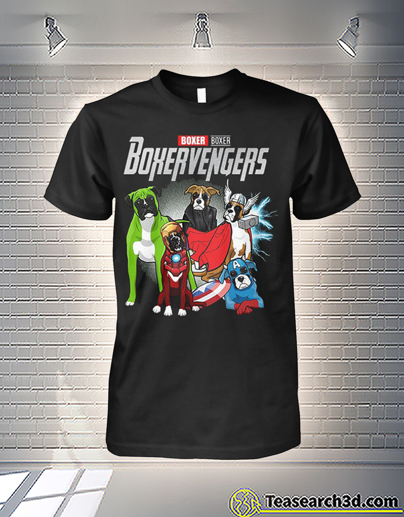 Boxer boxer boxervengers avengers shirt