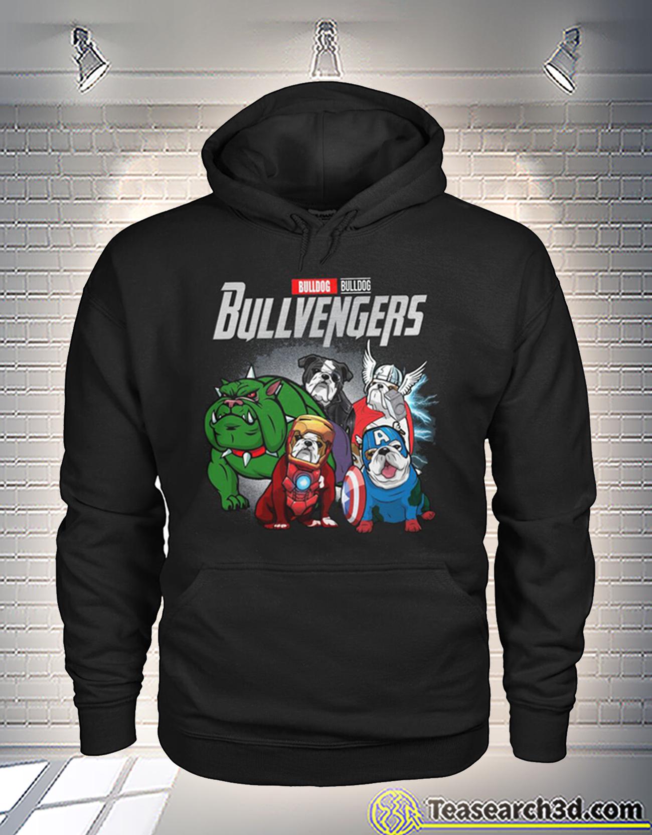 Bulldog bulldog bullvengers avengers hoodie