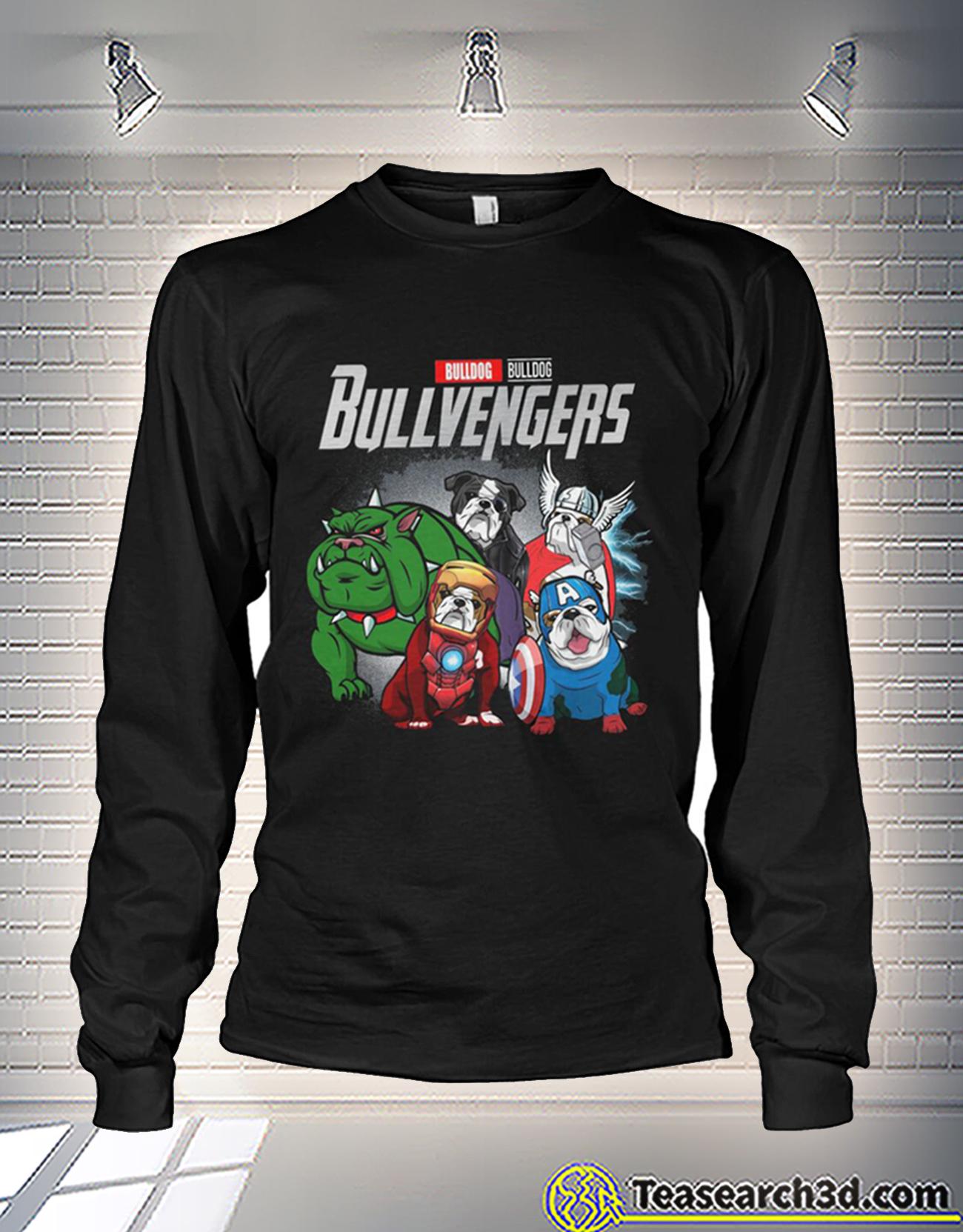 Bulldog bulldog bullvengers avengers long sleeve