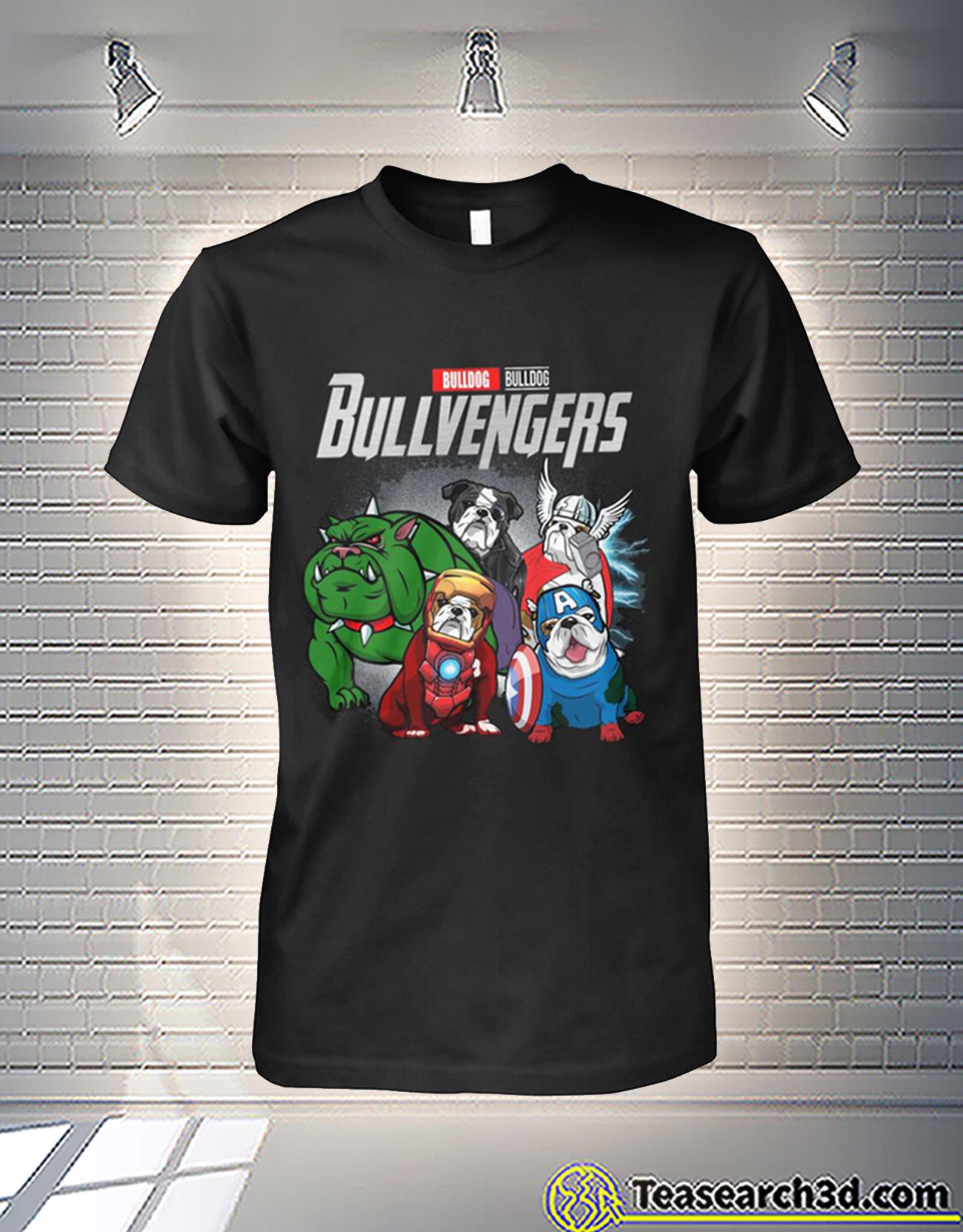 Bulldog bulldog bullvengers avengers shirt