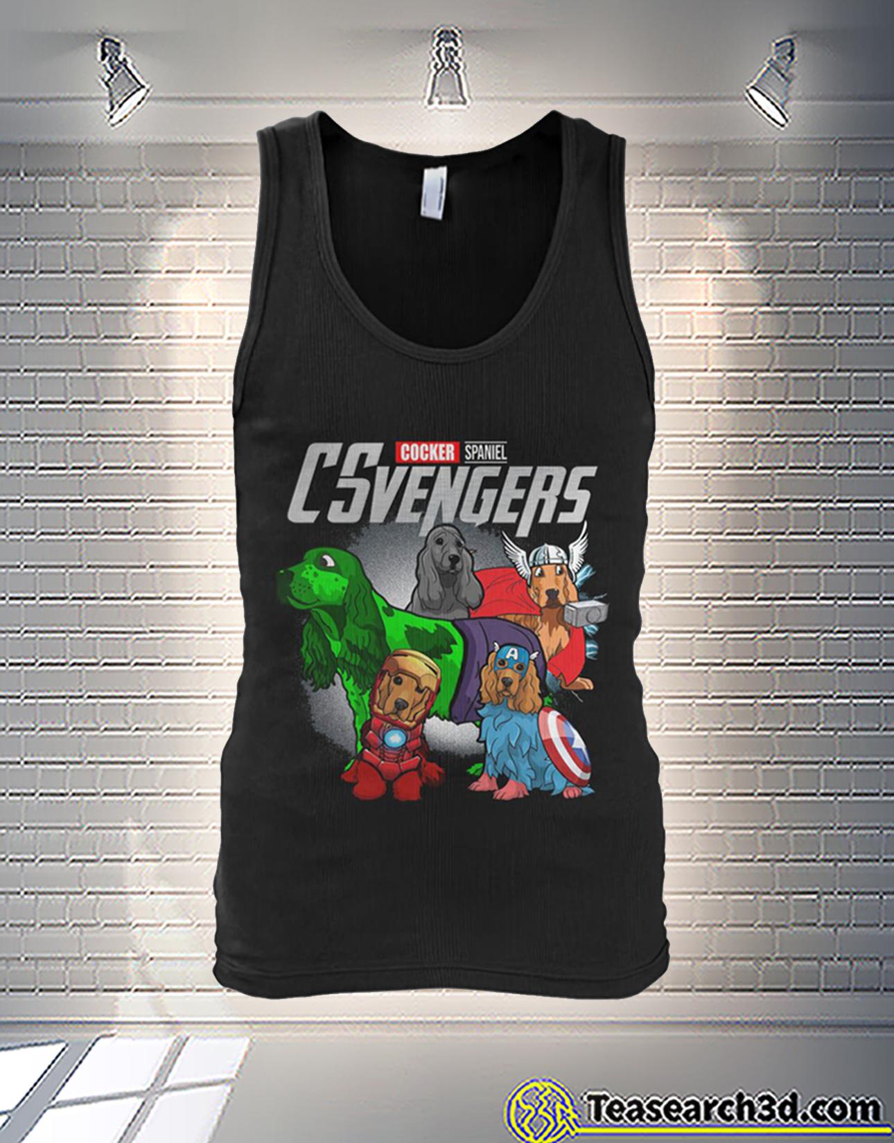 Cocker Spaniel csvengers avengers tank