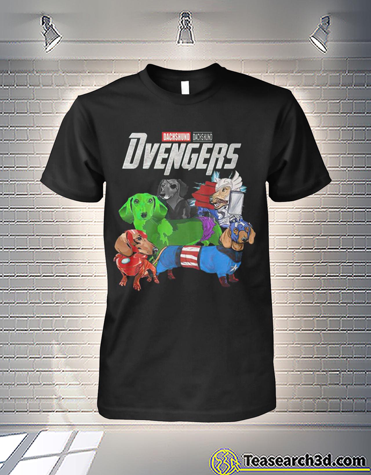 Dachshund dachshund dvengers avengers shirt