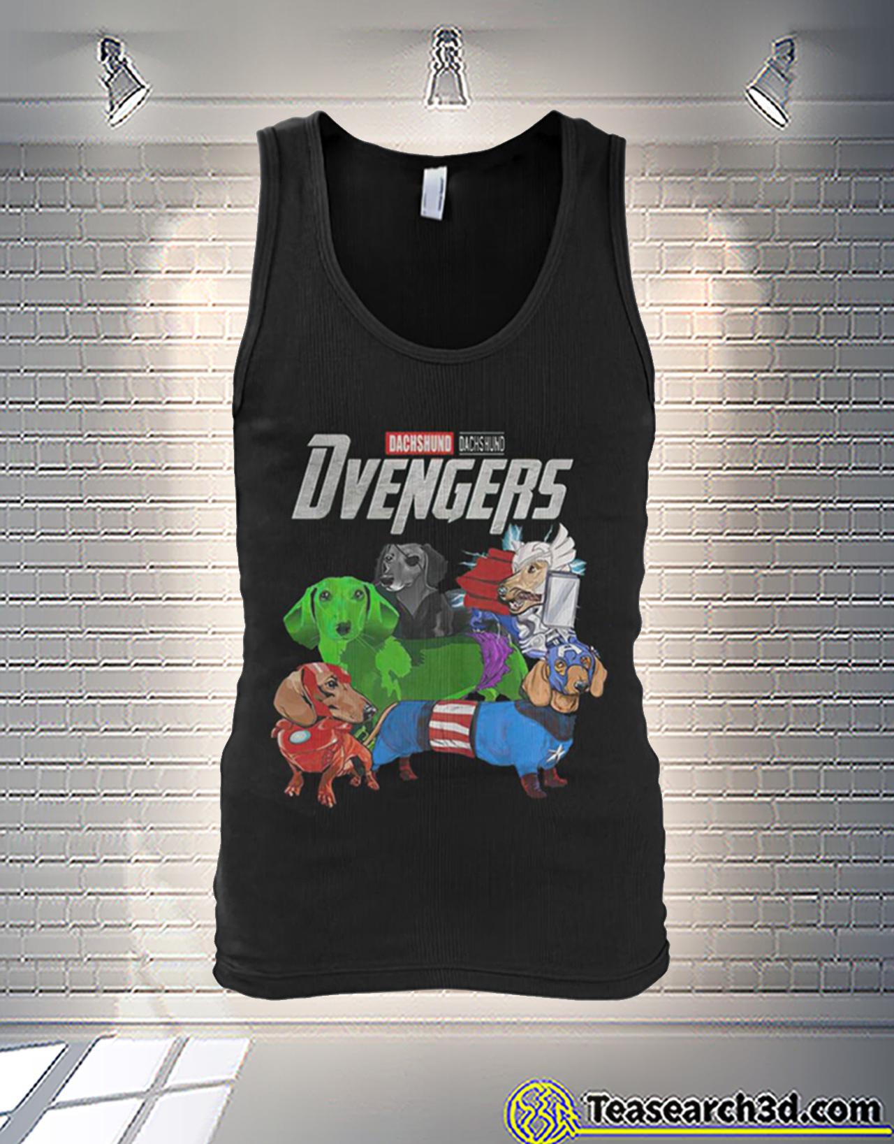 Dachshund dachshund dvengers avengers tank
