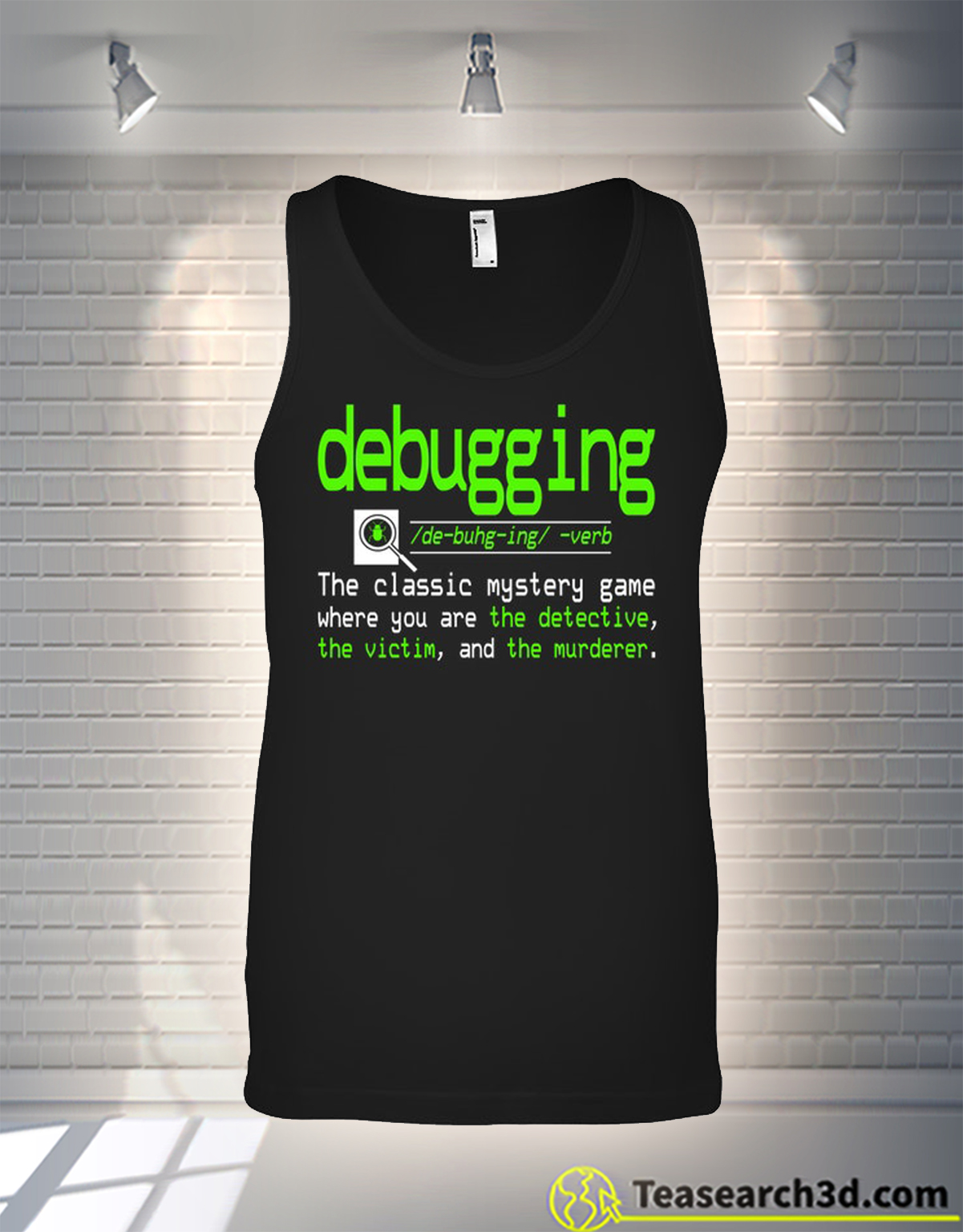 Debugging definition the classic mystery game tank