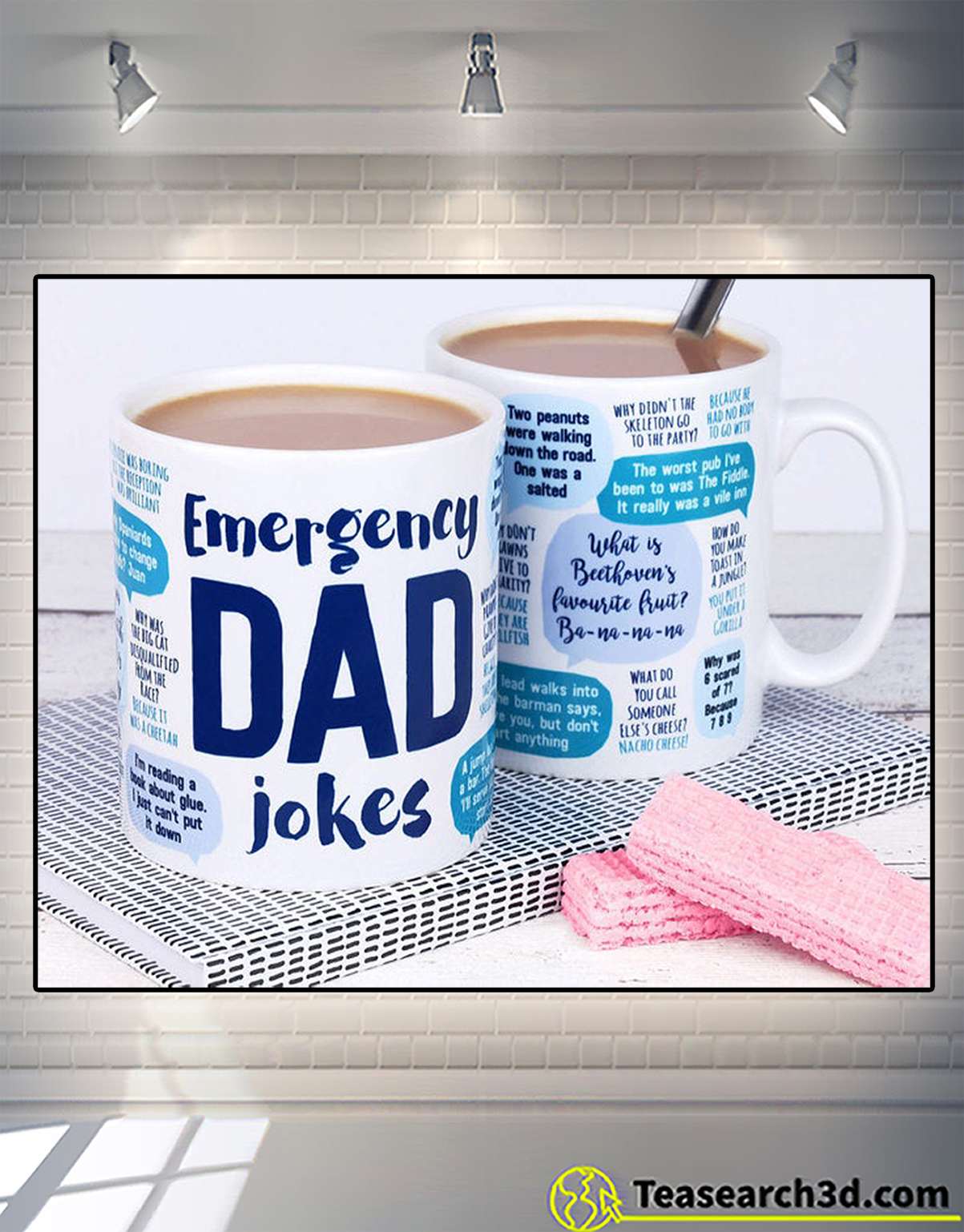 Emergency dad jokes mug 2