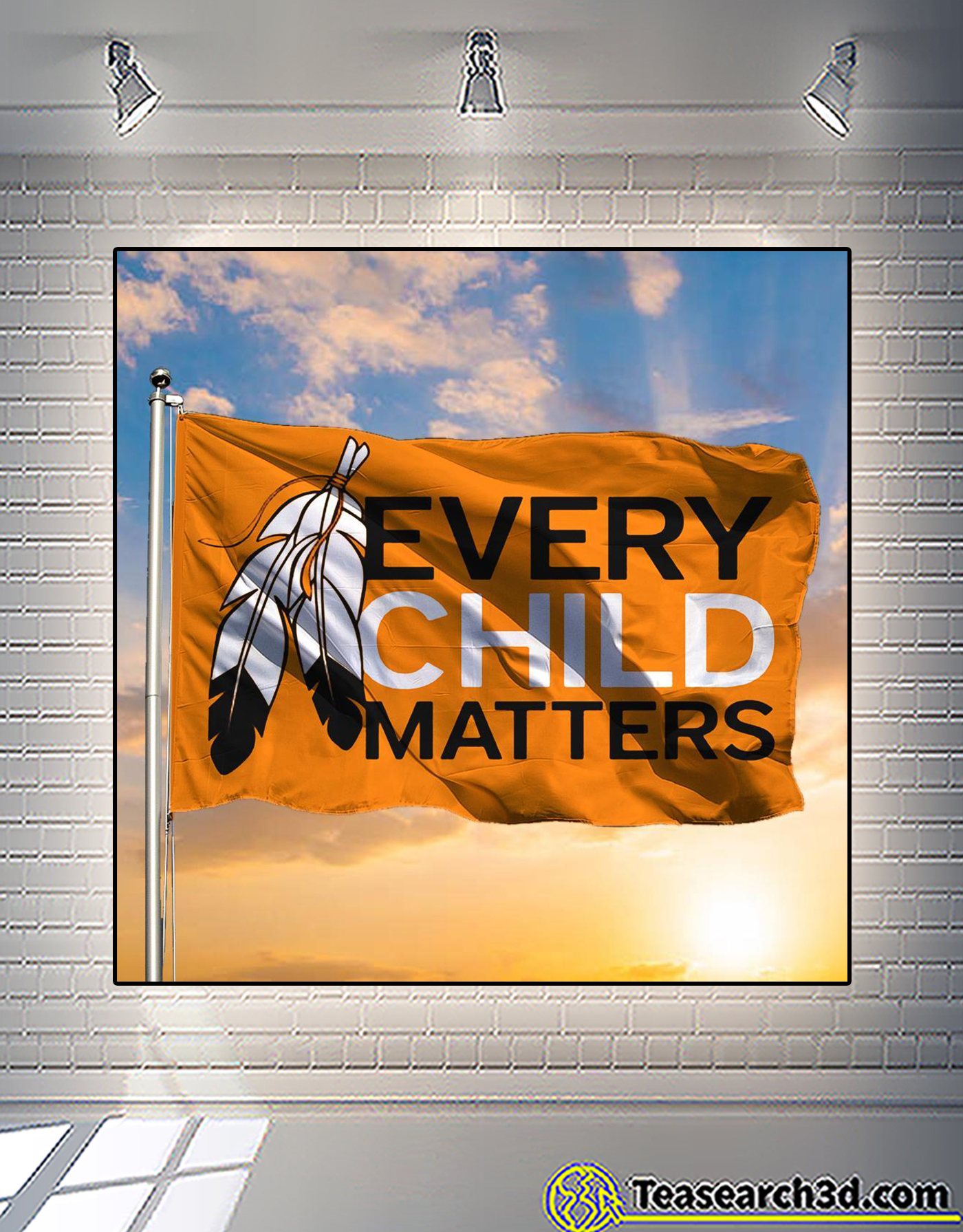 Every child matters first nation flag