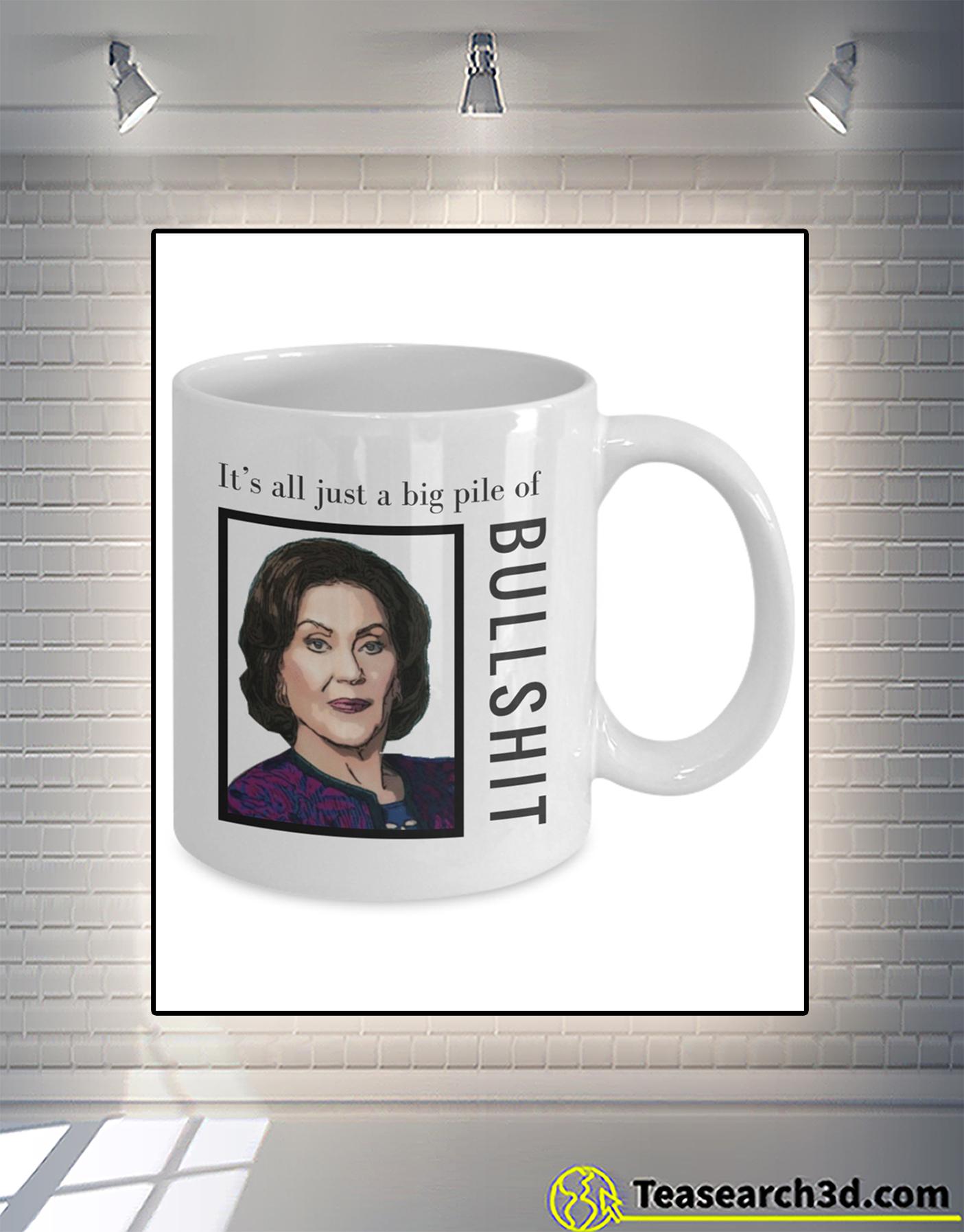 Gilmore girls It's all just a big pile of bullshit mug 1