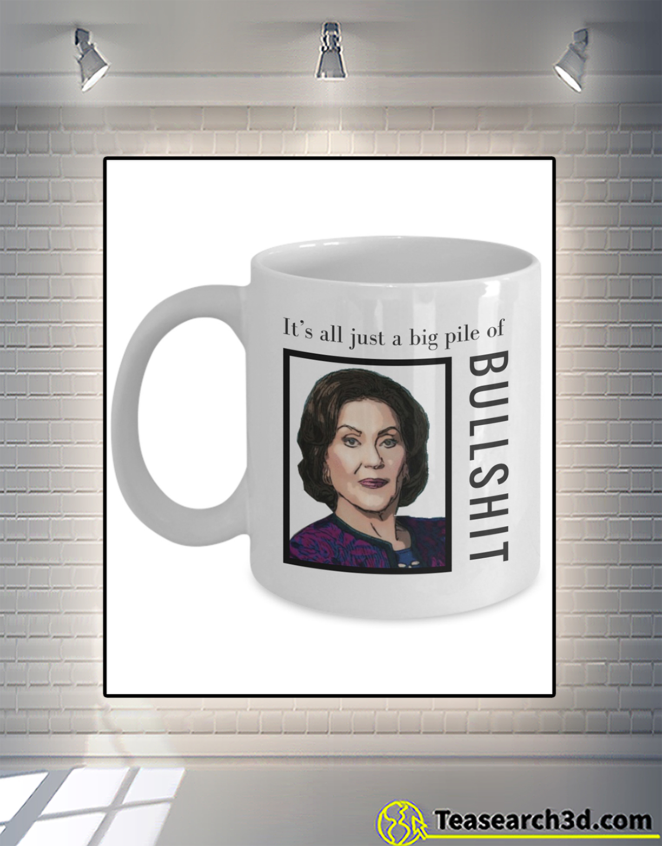 Gilmore girls It's all just a big pile of bullshit mug 2