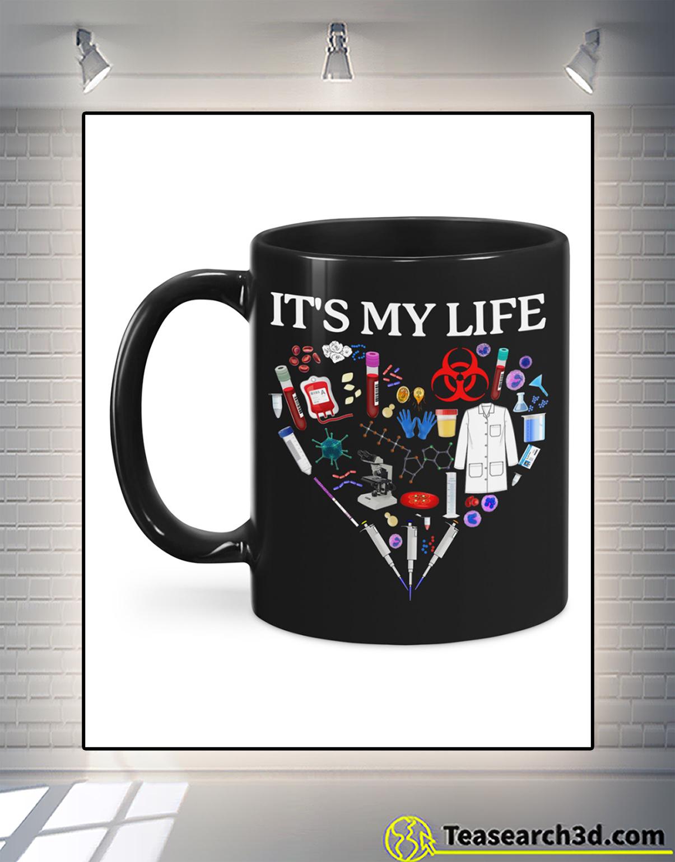 I don't always enjoy being a retired med tech mug 1