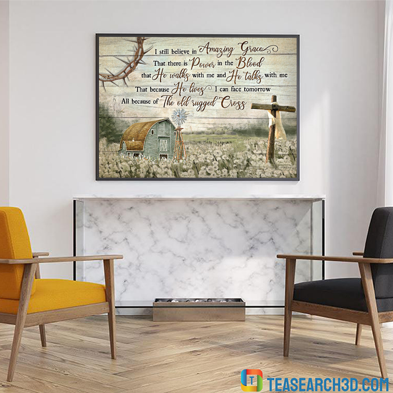 I still believe in Amazing Grace Jesus Landscape Canvas Prints