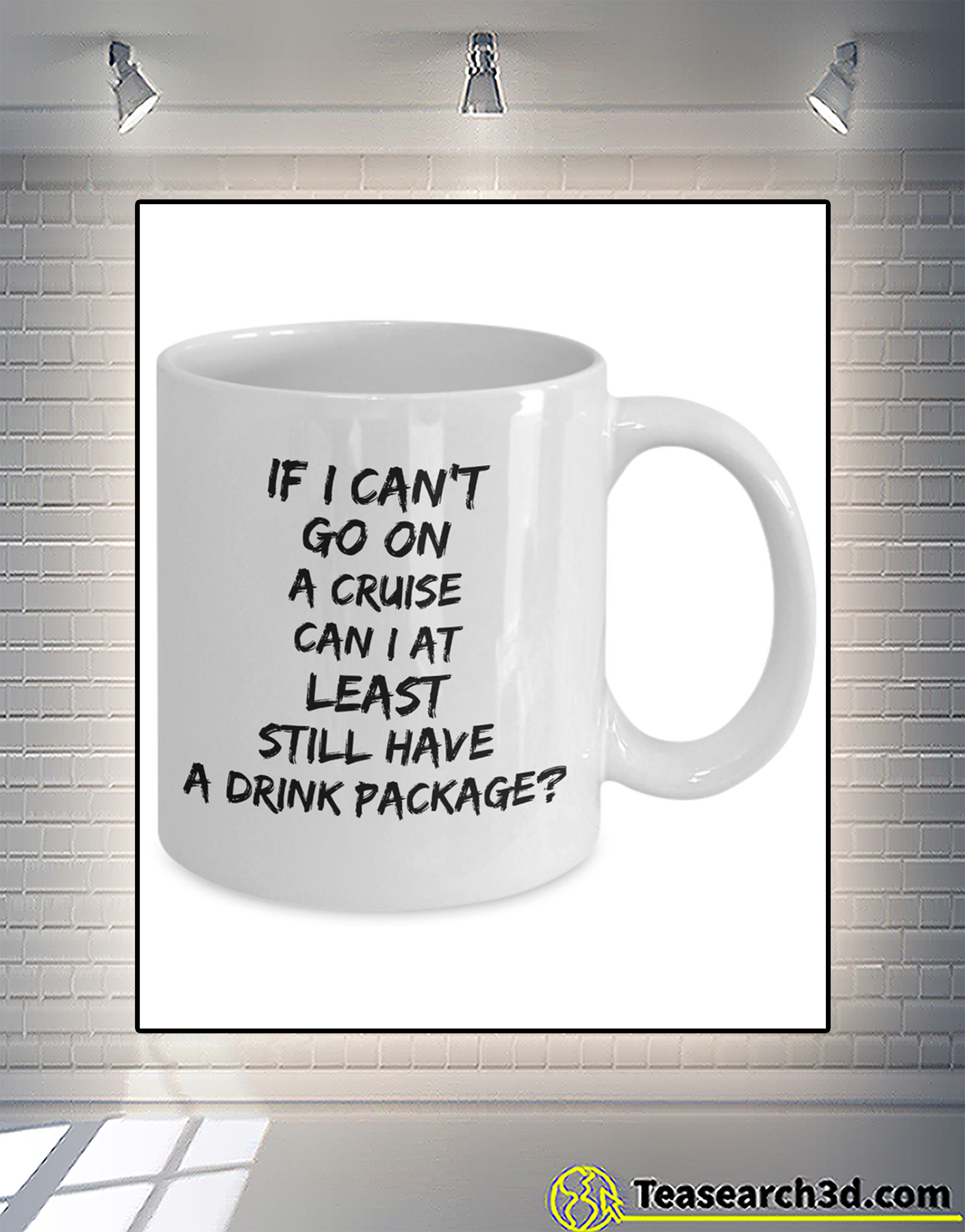 If I can't go on a cruise can I at least still have a drink package mug 1