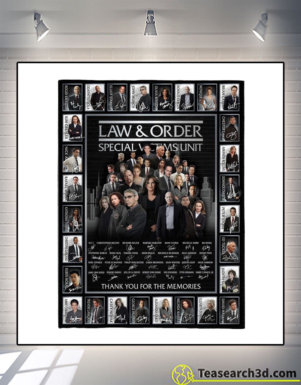 Law and order special victims unit signature blanket 1
