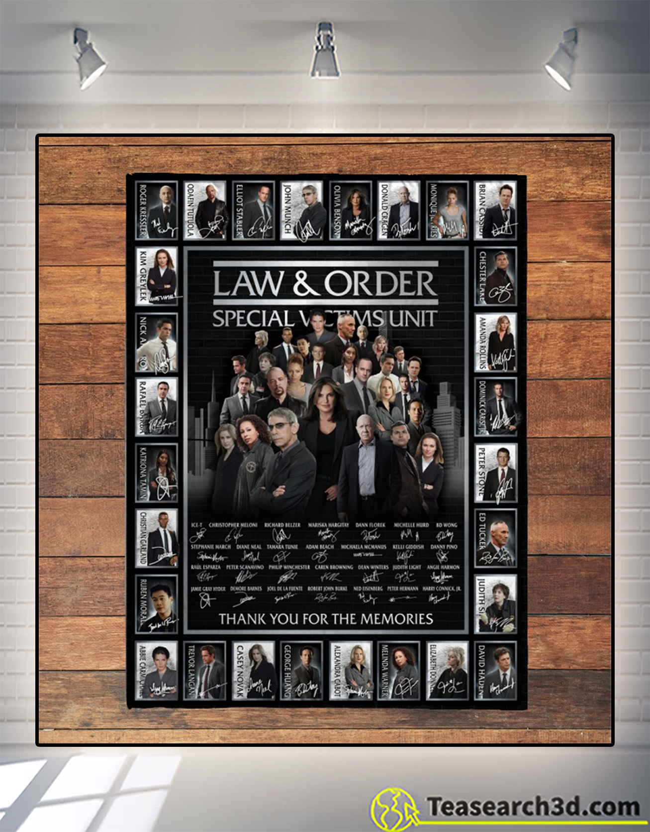 Law and order special victims unit signature blanket 2