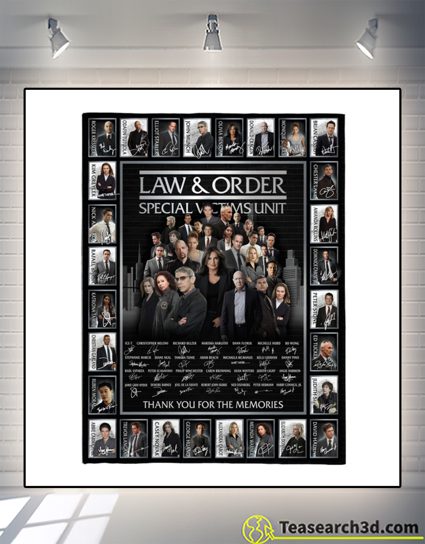 Law and order special victims unit signature blanket