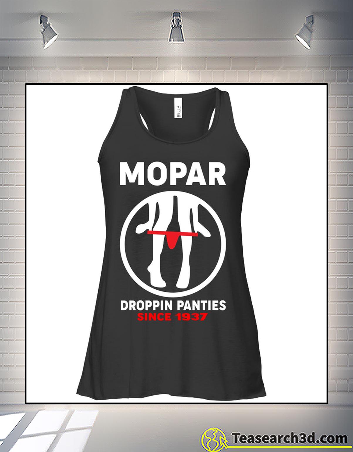 Mopar droppin panties since 1937 flowy tank